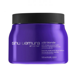 Shu Uemura Yubi Blonde Anti-Brass Purple Hair Mask Сиреневая маска для блондинок 500 мл