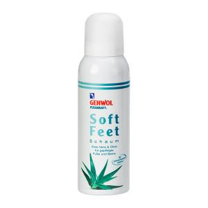 Gehwol Fusskraft Soft Feet Schaum Пенка для ног с Алоэ Вера и гиалоурановой кислотой 125 мл