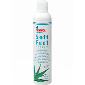 Gehwol Fusskraft Soft Feet Schaum Пенка для ног с Алоэ Вера и гиалоурановой кислотой 300 мл