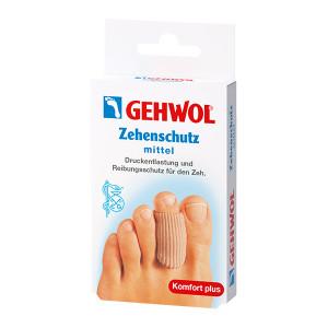 Gehwol Zehenschutz Mittel Среднее защитное кольцо для пальцев ног 2 шт