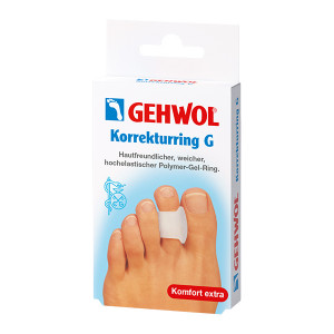 Gehwol Korrekturring G Кольцо-корректор для предотвращения искривления 2-го пальца 3 шт