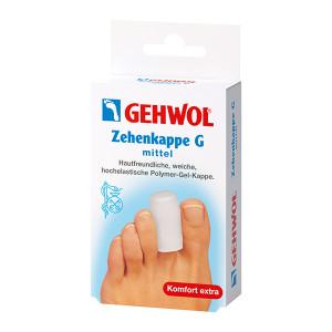 Gehwol Zehenkappe G Mittel Средние гель-колпачки для защиты пальцев 2 шт