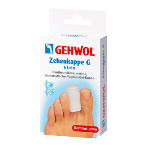 Gehwol Zehenkappe G Klein Маленькие гель-колпачки для защиты пальцев 2 шт