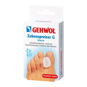 Gehwol Zehenspreizer G Klein Маленький гель-корректор для большого пальца 3 шт