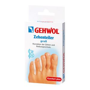 Gehwol Zehenteller Gros Большие гель-корректоры между пальцев ног 3 шт