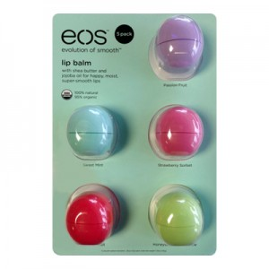 EOS 5 Pack Smooth Набор из 5-ти смягчающих и увлажняющих бальзамов для губ