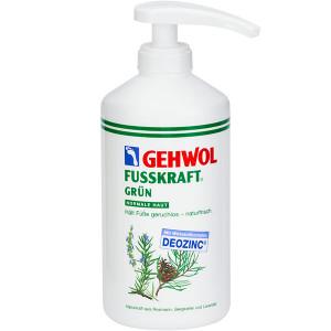 Gehwol Fusskraft Grun Зеленый бальзам для дезинфекции и предотвращения грибковых заболеваний 500 мл