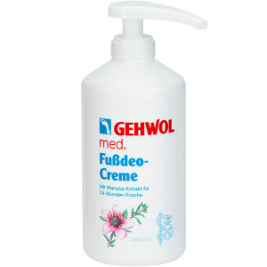 Gehwol Med Deodorant Foot Cream Интенсивный дезодорирующий крем для ног 500 мл