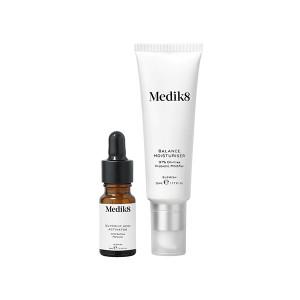 Medik8 Balance Moisturiser & Glycolic Acid Activator 97% безмасляный матирующий увлажняющий крем с пробиотиками и AHA 60 мл