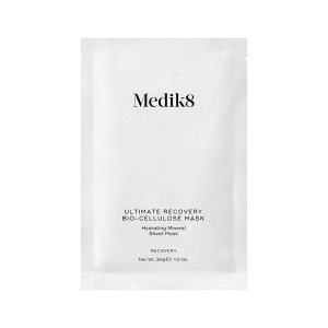 Medik8 Ultimate Recovery Bio-Cellulose Mask Hydrating Mineral Sheet Mask Маска для лица 6 шт