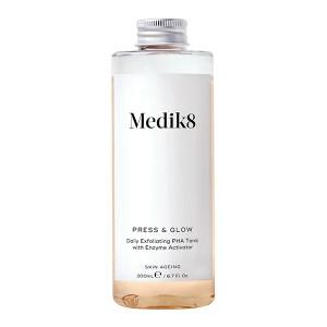 Medik8 Press & Glow Refill Daily Exfoliating PHA Tonic with Enzyme Activator Отшелушивающий тоник для чувствительной кожи 200 мл