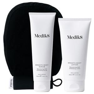 Medik8 Smooth Body Exfoliating Kit Система с АНА-кислотами для сухой кожи и гиперкератоза