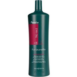 Fanola No Red For Brunette Shampoo Шампунь для брюнеток 1 л