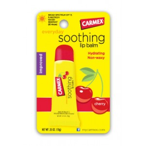 CARMEX Soothing Cherry lip balm Смягчающий, успокаивающий бальзам для губ со вкусом Вишни SPF 15