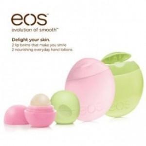 EOS Kit Набор 2 Бальзама + 2 Крема для рук