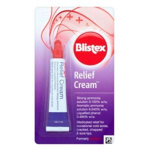 Blistex Relief Cream Медицинский Крем бальзам для губ сильного дейсвия