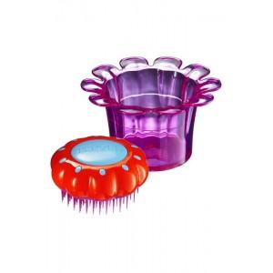 Tangle Teezer FLOWER POTS Popping Purple Детская расческа Цвет: Фиолетовый