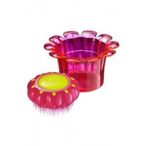 Tangle Teezer FLOWER POTS Princess Pink Детская расческа Цвет: Розовый