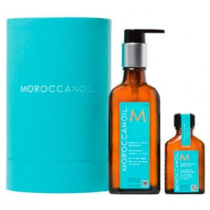 Moroccanoil Oil Treatment for All Hair Types Восстанавливающее и защищающее масло. Набор 100 мл + 25 мл
