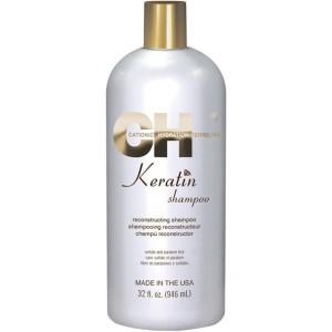 CHI Keratin Shampoo Кератиновый восстанавливающий шампунь 946 мл