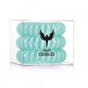 Hair Bobbles HH Simonsen Turques Резинка-браслет для волос Цвет: Бирюзовый (Тиффани) 3 шт