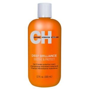 CHI Deep Brilliance Soothe & Protect Крем для защиты кожи головы и снятия раздражения 300 мл