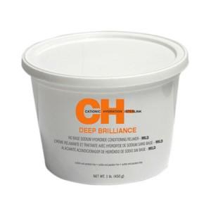CHI Deep Brilliance No Base Sodium Hydroxide Relaxer Mild Система выпрямления структурированных волос - легкая 450 г