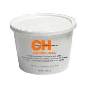 CHI Deep Brilliance No Base Sodium Hydroxide Relaxer Normal Система выпрямления структурированных волос - средняя 450 г