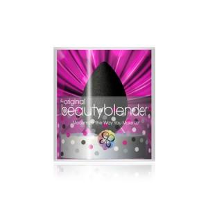 BeautyBlender Pro + Blendercleanser Solid Набор спонж и мыло для очищения спонжа Цвет: Черный