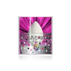 BeautyBlender Pure + Blendercleanser Solid Набор спонж и мыло для очищения спонжа Цвет: Белый