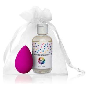 BeautyBlender + Blendercleanser Набор спонж и гель для очищения спонжа Цвет: Розовый