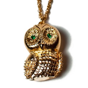 "Andrea Garland Jewellery Mr Hoots Necklace Бальзам для губ ""Ожерелье в виде Совы"""