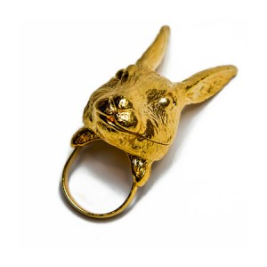 "Andrea Garland Jewellery Hartley Hare Lip Balm Ring Бальзам для губ ""Кролик Хартли"""