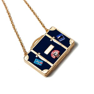 "Andrea Garland Jewellery Passepartout Necklace Бальзам для губ ""Ожерелье Паспарту"" Цвет: Синий"