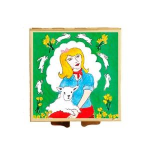 """Andrea Garland Face Products """"Spring"""" Compact Full of Honeysuckle Beauty Balm Бальзам """"Жимолость"""" в компактной упаковке - весна"""