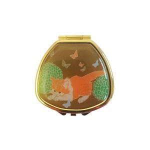 "Andrea Garland Lip Balm Vintage Inspired Pill Box - Tabby Бальзам для губ в футляре ""Полосатая кошка"""