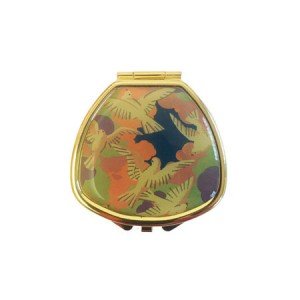 "Andrea Garland Lip Balm Vintage Inspired Pill Box - Art Deco Doves Бальзам для губ в футляре ""Голуби"""
